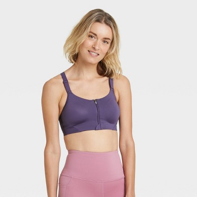 Women's High Support Zip-Front Bra - All in Motion™