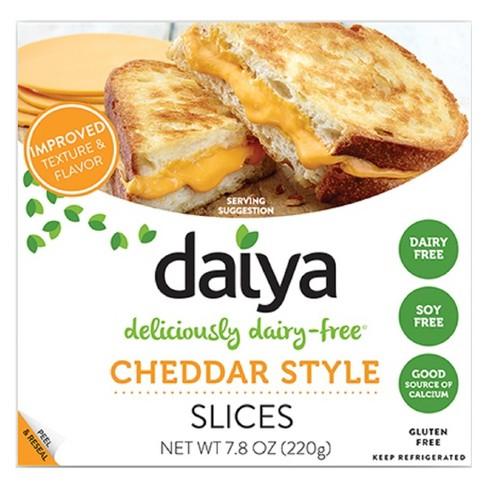 Daiya Dairy-Free Cheddar Cheese Style Slices - 7.8oz - image 1 of 3