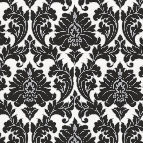 Majestic Wallpaper - Black & White - image 1 of 1