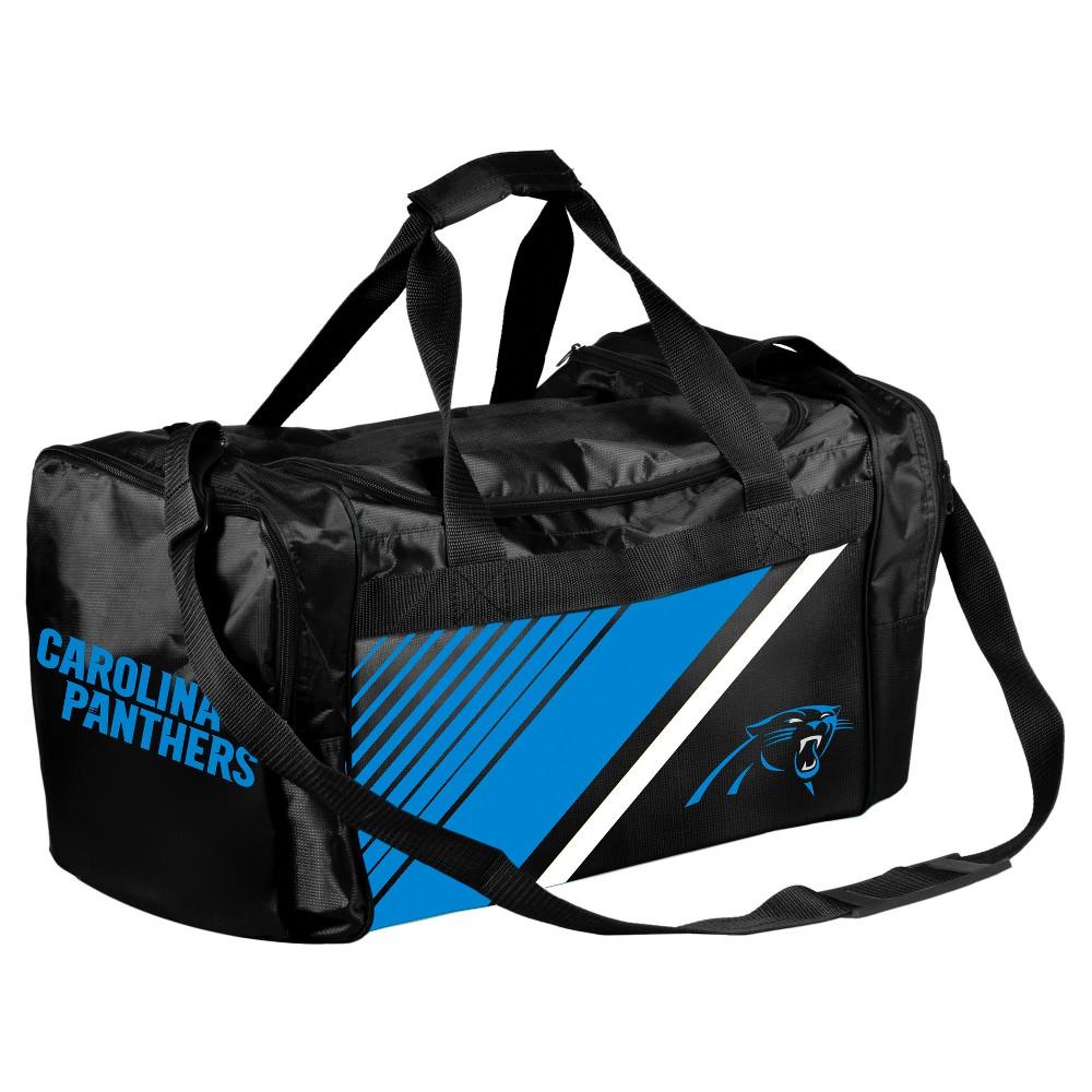 NFL Carolina Panthers Border Stripe Duffel Bag