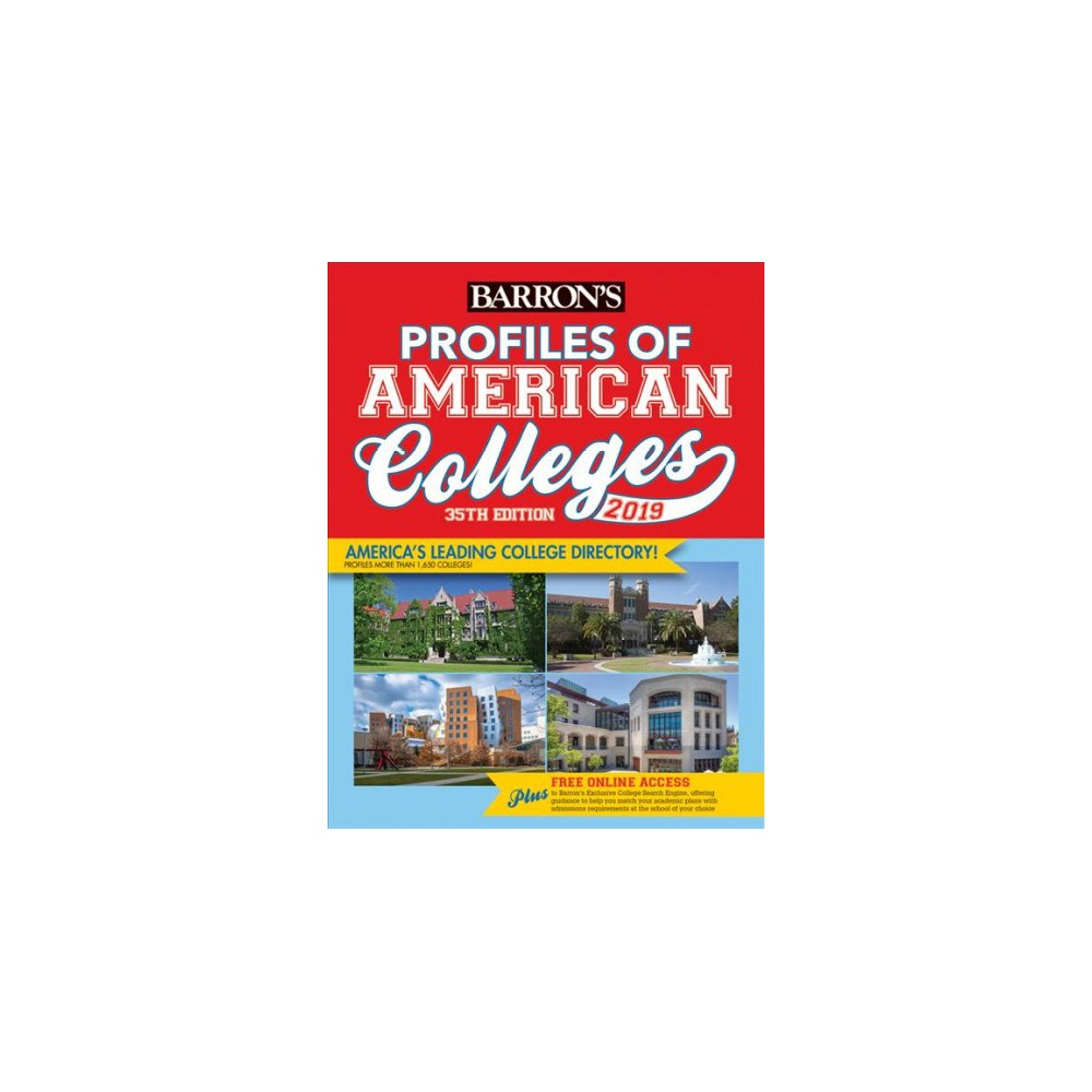 Barron's Profiles of American Colleges 2019 - 35 (Paperback)