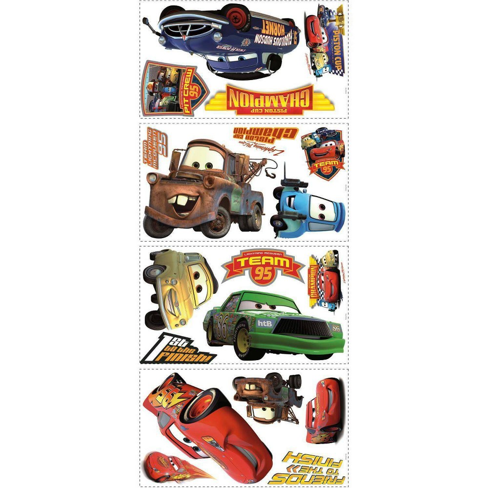 Image of Cars Piston Cup Champs Peel and Stick Wall Decal