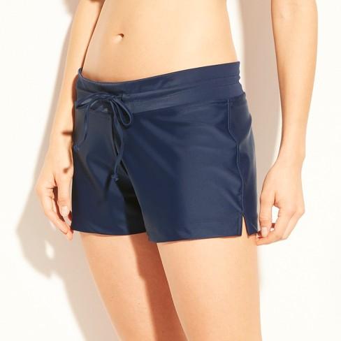 Women s Swim Shorts - Kona Sol™ Navy S   Target 8ad289218e