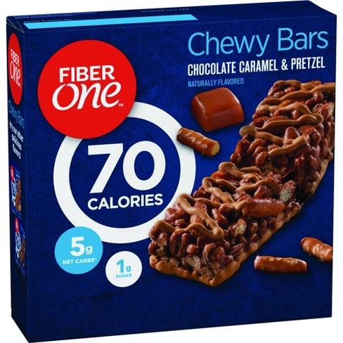 Fiber One 70 Calorie Chocolate Caramel & Pretzel Bar - 5ct - image 1 of 4