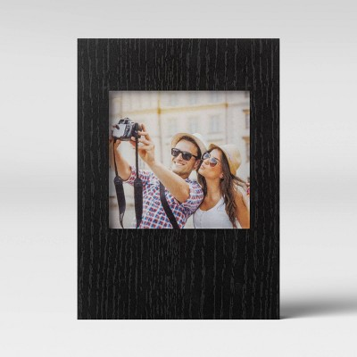 "4"" x 4"" Box Frame Black - Room Essentials™"