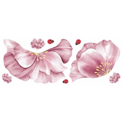 Floral Mirror Wall Decal - RoomMates