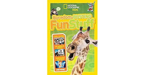 Boredom-busting Fun Stuff ( National Geographic Kids) (Paperback) by Geographic Society (U. S.) National - image 1 of 1