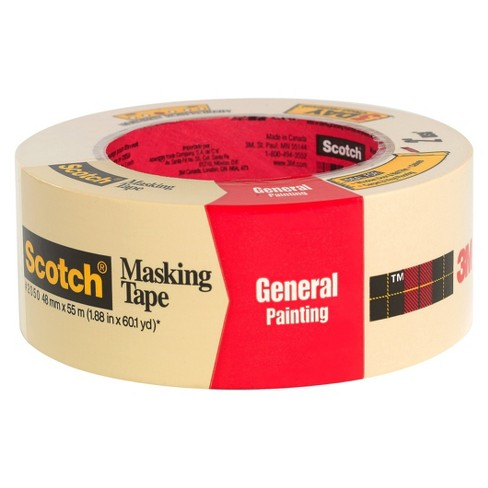 Scotch® Masking Tape, 1.88 in x 60 yd - image 1 of 1