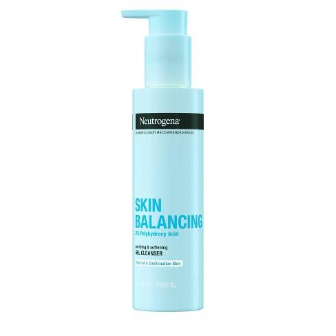 Neutrogena Skin Balancing Purifying and Softening Gel Cleanser - 6.3 fl oz - image 1 of 4