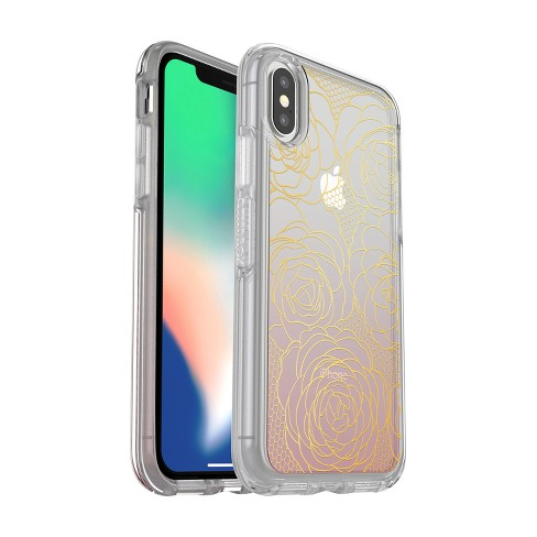 OtterBox Apple iPhone X Case Symmetry - Camelia - image 1 of 5