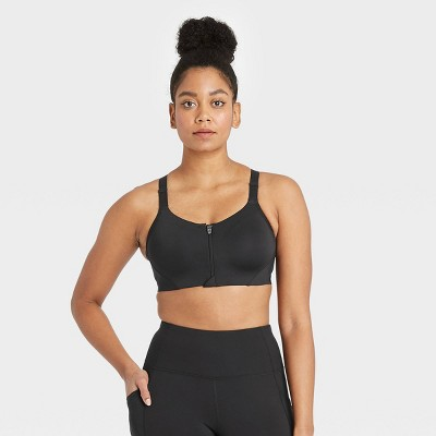 Women's High Support Mesh Back Zip-Front Bra - All in Motion™