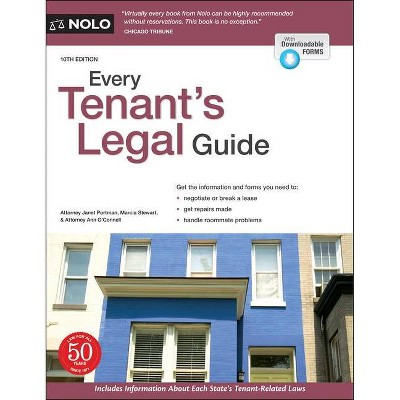 Every Tenant's Legal Guide - 10th Edition by  Janet Portman & Ann O'Connell (Paperback)