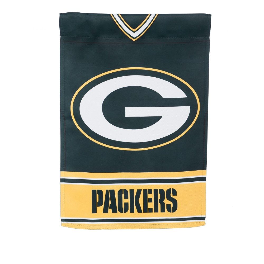 Green Bay Packers Two-Sided Jersey Garden Flag