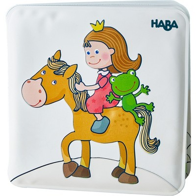 HABA Magic Bath Book Princess - Wet the Pages to Reveal Colorful Background - Great for Tub or Pool