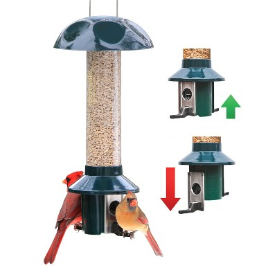 Roamwild 2 Port Pest Off Bird feeder - Mixed Seed