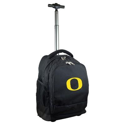 NCAA Mojo Black Premium Wheeled Backpack