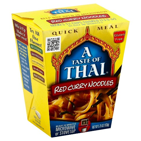 A Taste of Thai Red Curry Noodles - 5.75 Oz - image 1 of 1