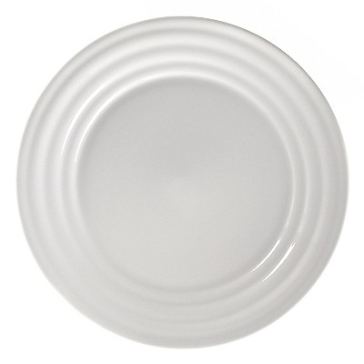 10 Strawberry Street Swing Porcelain Salad Plate 8   White - Set of 4