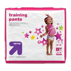 Training Pants for Girls - 2T-3T (26ct) - Up&Up™