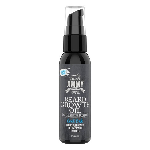 Uncle Jimmy Beard Growth Oil - 2 fl oz - image 1 of 4