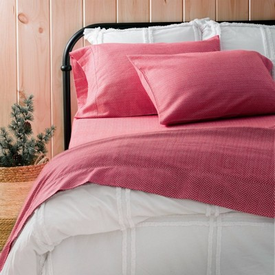 Herringbone Flannel Sheet Set - Martha Stewart