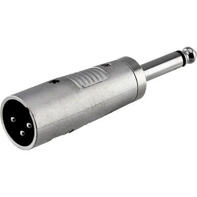 "Rapco Horizon XLR Male to 1/4"" Male Mono Adapter"