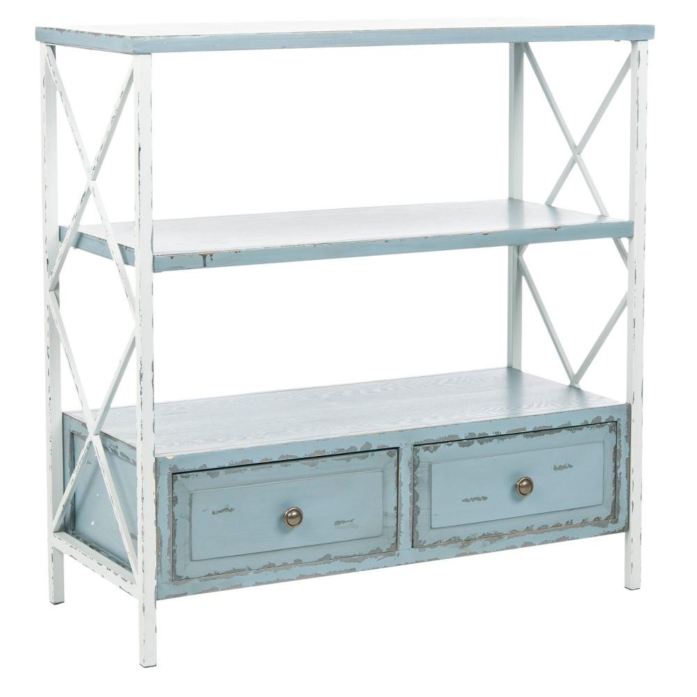 Admirable Chandra Console Table Bluewhite Safavieh Ibusinesslaw Wood Chair Design Ideas Ibusinesslaworg