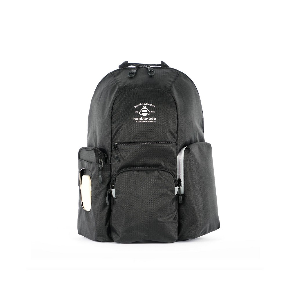 Image of Humble-Bee Free Spirit SP Diaper Backpack - Onyx, Black