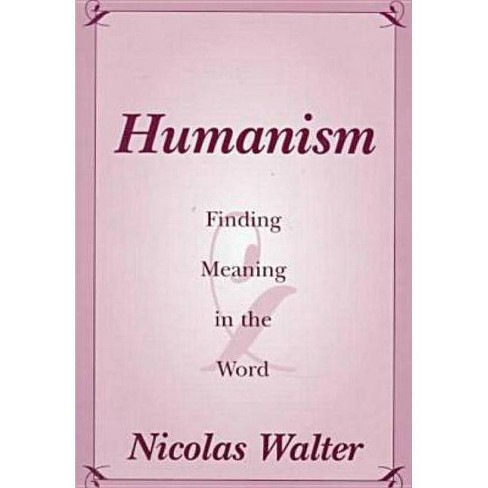 Humanism - by  Nicolas Walter (Paperback) - image 1 of 1