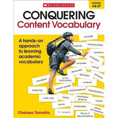 Conquering Content Vocabulary - by  Chelsea Tornetto (Paperback)