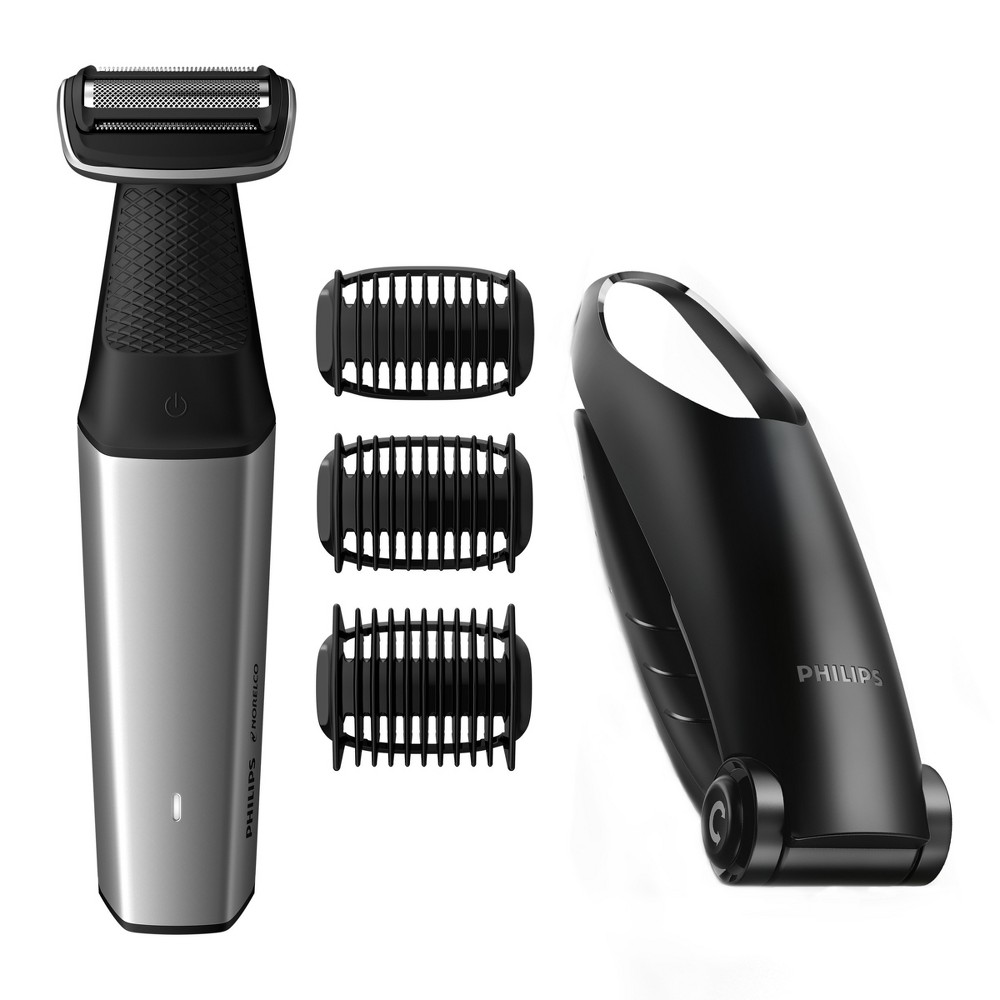 Image of Philips Norelco Bodygroom Series 3500 Men's Rechargeable Trimmer with Back Attachment - BG5025/49