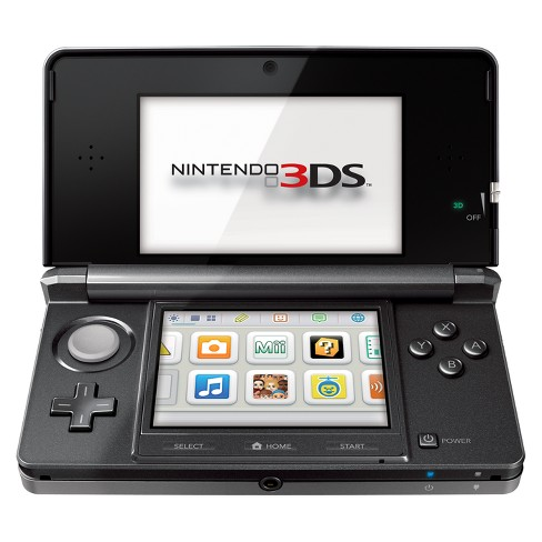 Nintendo® 3DS Console - Cosmo Black Nintendo® 3DS - image 1 of 1