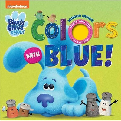 Blue's Clues Colors with Blue Felt Flap Book (Board Book)
