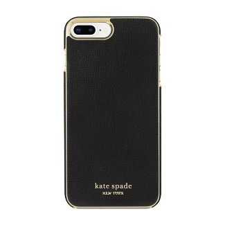 Kate Spade New York Apple iPhone 8/7 Plus Wrap Case - Black Crumbs