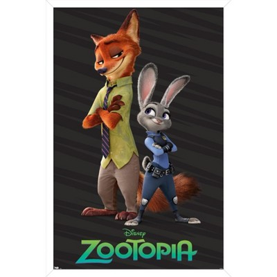 Trends International Disney Zootopia - Partners Unframed Wall Poster Print