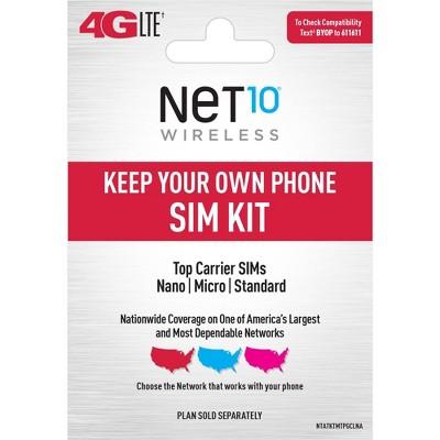 Net BYOP Mini SIM Pack