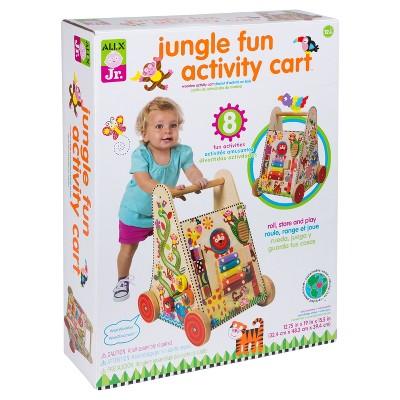 ALEX Toys ALEX Jr. Jungle Fun Activity Cart
