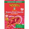 Annie's Homegrown Organic Valentine's Exchange Strawberry Bunny Fruit Snacks - 18ct - image 2 of 3