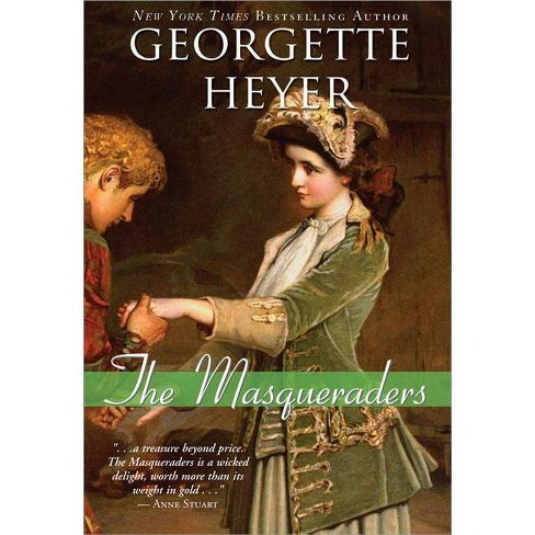 The Masqueraders - (Historical Romances) by  Georgette Heyer (Paperback) - image 1 of 1