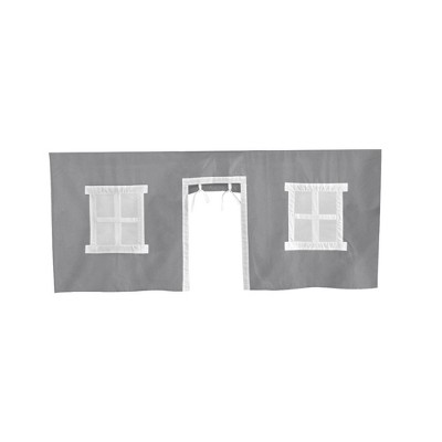 Max & Lily Cotton Underbed Curtains Square