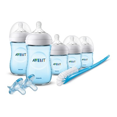 Philips Avent Natural Baby Bottle Blue Gift Set