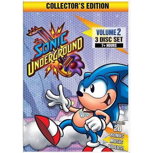 Sonic Underground Volume 2 Dvd Target