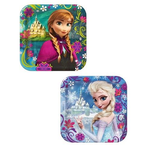 "Frozen 7"" Paper Plates - 8ct - image 1 of 3"