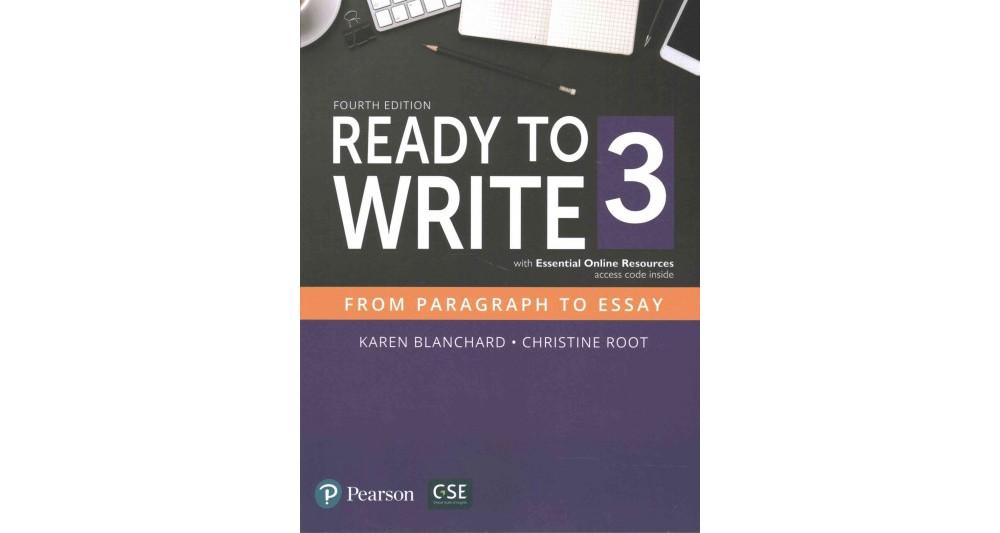 Pearson Education Ready to Write 3 (Paperback)