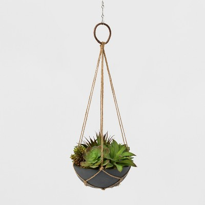 Hanging Twine Succulent Planter - Lloyd and Hannah