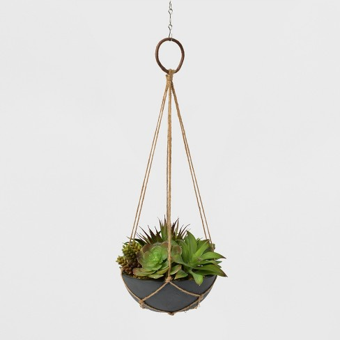 Hanging Twine Succulent Planter - Lloyd and Hannah - image 1 of 1