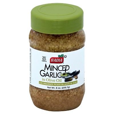 Badia Minced Garlic in Oil - 8oz