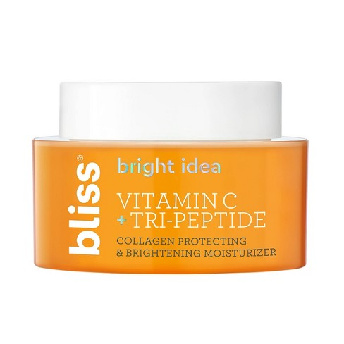 Bliss Bright Idea Vitamin C + Tri-Peptide Collagen Protecting & Brightening Moisturizer - 1.7 fl oz - image 1 of 4