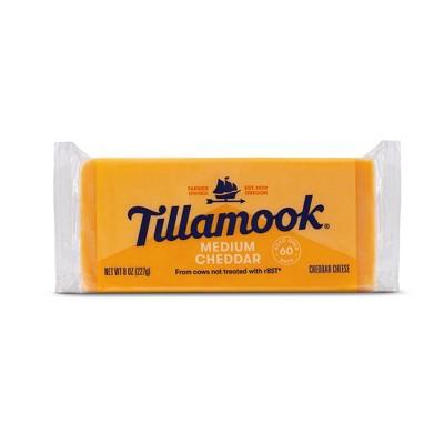 Tillamook Medium Cheddar Cheese Loaf - 8oz