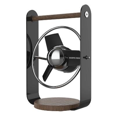 Sharper Image SBV1 Black Soft Blade Fan